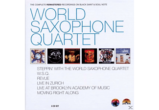 World Saxophone Quartet - Cpte Black Saint / Soul Note Records - (CD)
