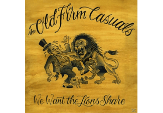 The Old Firm Casuals - We want the lions share/gate fold - (Vinyl)