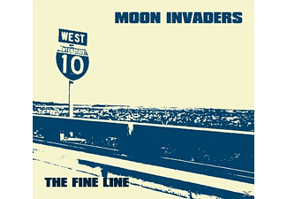 The Moon Invaders - The Fine Line - (CD)