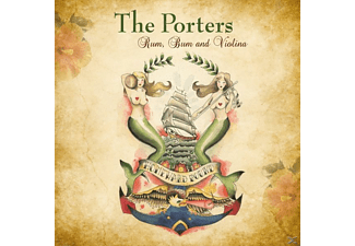 The Porters - Rum, Bum & Violina - (CD)