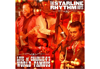 Starline Rhythm Boys - Live At Charlie-O's World Famous - (CD)