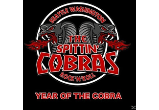 The Spittin' Cobras - Year Of The Cobra - (CD)