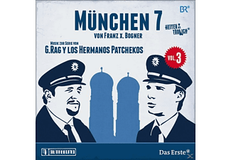 G.Rag Y Los Hermanos Patchekos - München 7-Vol.3 [CD]