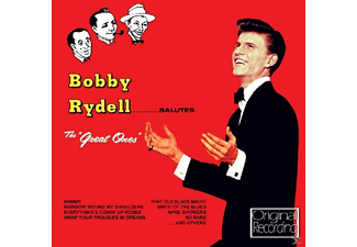 Bobby Rydell - Salutes The Great Ones - (CD)