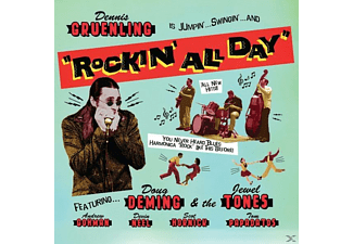 Dennis Gruenling - Rockin All Day - (CD)