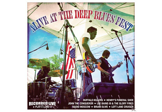 VARIOUS - Alive At The Deep Blues Fest - (Vinyl)