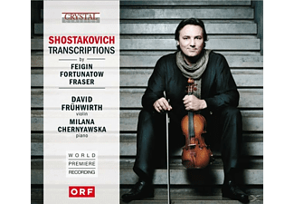 DAVID FRUHWIRTH/MIKHAIL CHERNYUSHKA, Frühwirth,David/Feighin,Grigorij/++ - Shostakovich Transcriptions - (CD)