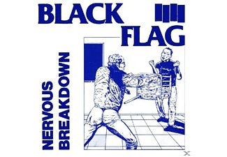 Black Flag - NERVOUS BREAKDOWN - (Vinyl)