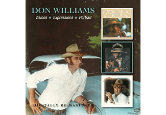 Don Williams - Visions/Expressions/Portrait [CD]