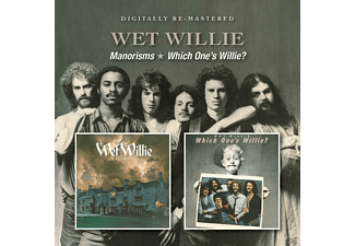 Wet Willie - Manorisms/Which One's Willie? - (CD)
