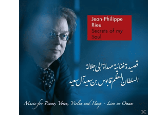 Jean-philippe Rieu - Secrets Of My Soul-Live In Oman - (CD)
