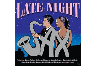 VARIOUS - Late Night Sax - (CD)