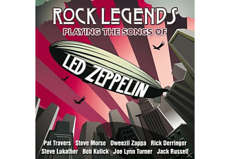 VARIOUS - Rock Legends Playing The Songs Of L - (Vinyl)