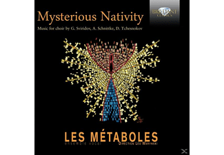 Vocal Ensemble Les Metaboles - Mysterious Nativities [CD]