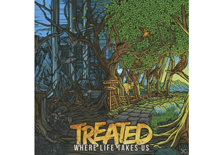 Treated - Where Life Takes Us - (CD)