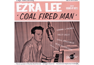 Lee,Ezra/Round Up Boys,The - Coal Fired Man - (CD)