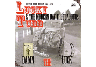 Lucky & Modern Day Troubadours Tubb - Damn The Luck [CD]