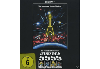 Daft Punk - Interstella 5555 (Blu-Ray) - (Blu-ray)