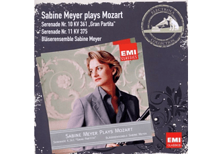 Sabine Bläserensemble Meyer - Serenaden 11 & 10 Gran Partita - (CD)