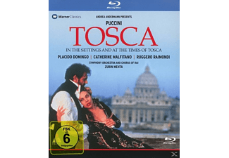 Andrea Andermann - Tosca(In The Settings And At The Times Of Tos - (Blu-ray)