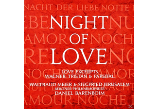 Bp, Meier, Jerusalem, Barenboim - Night Of Love/Tristan Und Isolde/Parsifal - (CD)