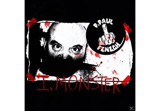 P.PAUL Fenech - I, Monster (Limited Edition) - (LP + Download)