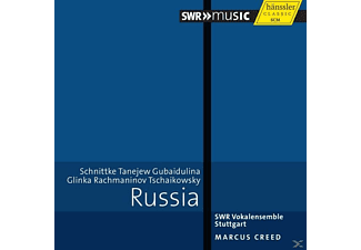 Creed & Swr Vokalensemble Stuttgart - Russia - (CD)