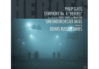 SO Basel/Russel Davies - Sinfonie 4 Heroes Fom The Music Of David Bowie - (CD)