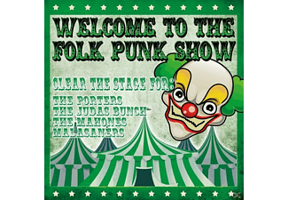 VARIOUS - Welcome To The Folk Punk Show (Ltd.Lp) - (Vinyl)