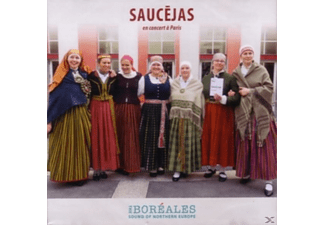 Saucejas - En Concert a Paris - (CD)