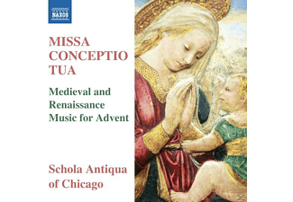 Schola Antiqua Of Chicago - Anderso - Missa Conceptio Tua - (CD)