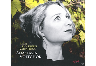 Anastasia Voltchok - Goldberg Variations - (CD)