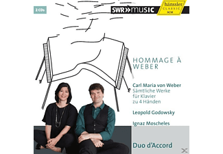 Duo D'accord - Hommage à Weber - (CD)