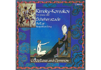 Goldstone And Clemmow - Rimsky-Korsakov for piano duo - (CD)