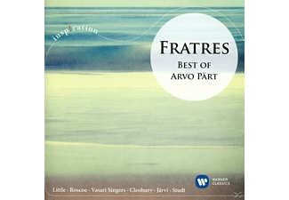 LITTEL,TASMIN/STUDT,RICHARD - Fratres_best Of Arvo Pärt [CD]