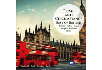 RATTLE,SIR SIMON/BOULT,SIR ADRIAN - Pomp And Circumstances:Best Of British - (CD)