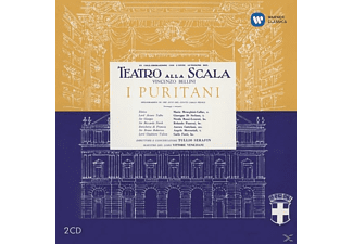 Maria Callas - Bell:I Puritani (Ramstered 2014) - (CD)