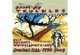 By Truckers, Drive-by Truckers - Ugly Buildings, Whores & Politicians - (CD)