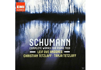 Andsnes & Tetzlaff - Schumann: Complete Works For Piano Trio [CD]