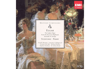VARIOUS - Elgar, Stanford, Parry [CD]