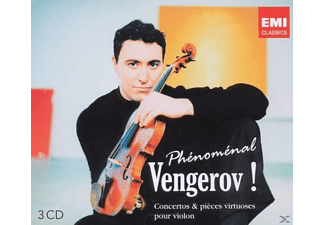 Maxim & Various Vengerov - Phenomenal Vengerov - (CD)