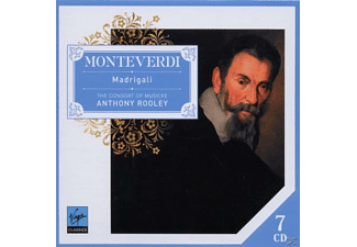 Consort Of Musicke,The/Rooley,Anthony - Monteverdi Madrigali [Box-Set] - (CD)