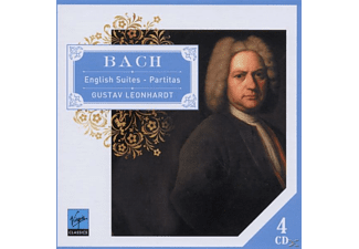 Gustav Leonhardt - English Suites&Partitas [CD]