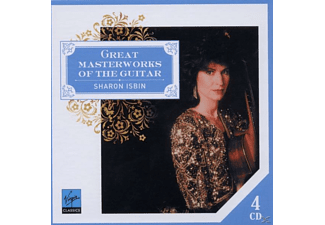 Sharon Isbin, VARIOUS - Great Masterworks Of The Guita [CD]