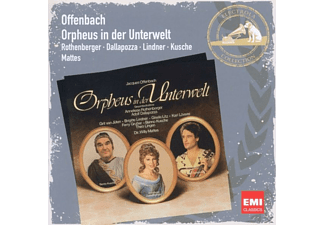 Mattes, Rothenberger, Dallapozza, Rothenberger/Dallapozza/Mattes - Orpheus In Der Unterwelt - (CD)