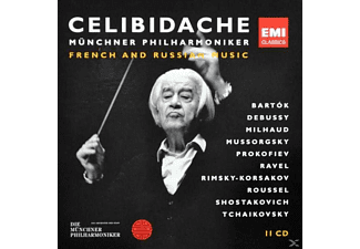 Sergiu Celibidache - French & Russian Music [Box-Set] [CD]