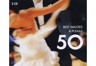 VARIOUS - 50 Best Waltzes & Polkas - (CD)