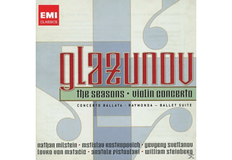 VARIOUS, Milstein/Rostropowitsch/Various - 20th Cent.Classics: Glasunow [CD]