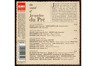 Jacqueline/various Du Pre - The Sound Of Jacqueline Du Pre - (CD)