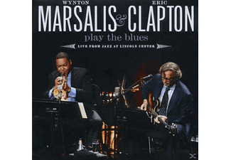 Marsalis, Wynton / Clapton, Eric - Play The Blues Live From Jazz At Lincoln Center [CD]